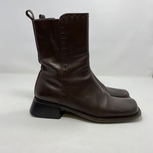 Pazzo Women's Brown Boots Size 9.5 (A129)